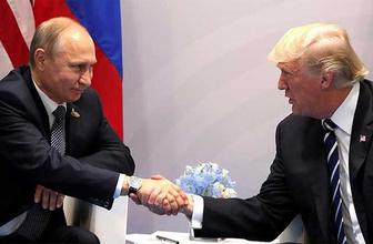 Trump- Putin toplantısında gazeteci protestosu