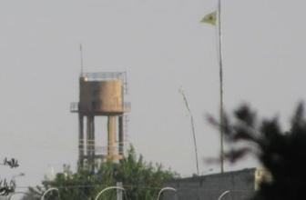 Tel Abyad'daki PYD/YPG flamaları değiştirildi