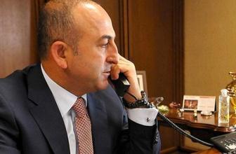 Çavuşoğlu ABD'li mevkidaşı ile telefonda görüştü
