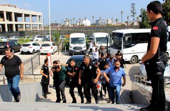Hatay'da suç örgütüne operasyon: 5 tutuklama