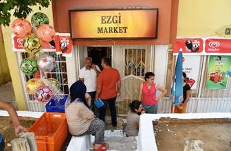 Kanlar içinde kalan market işletmecisi kadın pes etmedi