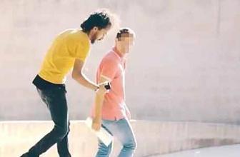 Şanlıurfa'da sosyal deney: Cüzdanı vermeyince dövmeye kalktılar