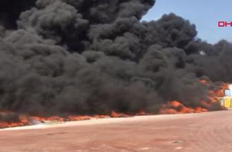 Antalya organize sanayide yangın