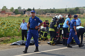 Tekirdağ'da korkunç kaza: 3 ölü!
