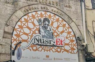 Nusret'in tabelası tepkilerin ardından kaldırıldı!