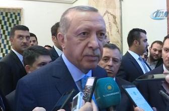 Erdoğan: 'Tartışılır bir şey yok. 21'den aşağı düşmeyecek'