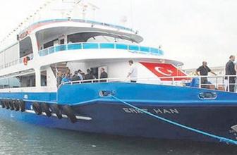 Gemi kaptanı yolcuyu güverteden aşağı attı