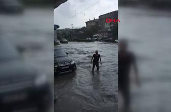 İstanbul'da yağışlar metro seferlerini vurdu! Seferler iptal