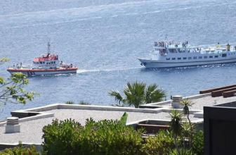 Yunan feribotu arızalandı! Türkiye harekete geçti