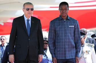 Cumhurbaşkanı Erdoğan'dan Zambiya'da önemli açıklamalar