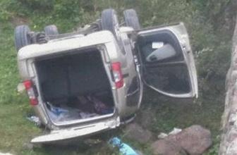 Türbe ziyaretine giderken kaza: 1 ölü, 4 yaralı!