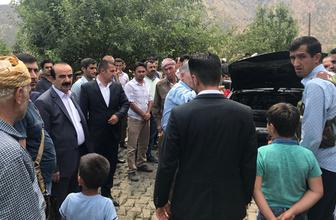 AK Partili vekilin korumalarına ait araç kundaklandı
