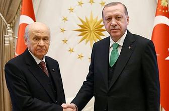 Erdoğan ve Bahçeli'den sürpriz görüşme