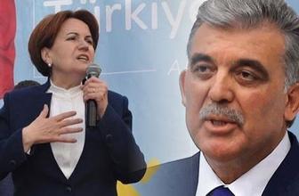 Bomba Abdullah Gül iddiası! İYİ Parti'nin kuruluşunda...