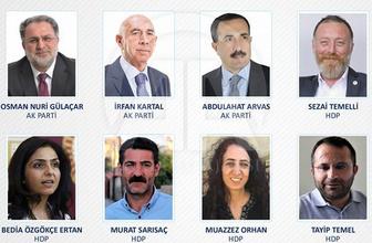 Yeni milletvekilleri kesinleşen YSK listeleri 27. dönem vekil isimleri