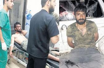 İki terörist böyle yakalandı! El bombaları ve silah...