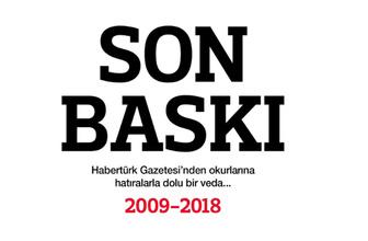Habertürk Gazetesi'nin veda baskısı Fatih Altaylı son yazısını yazdı