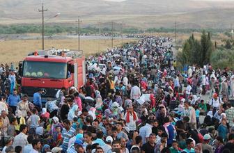 Kaçıyorlar yeni göç dalgası sayı yüzbinleri geçti
