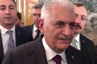 AK Parti'nin Meclis Başkanı adayı Binali Yıldırım'dan ilk açıklama