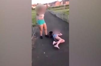 Kızların feci kavgası saniye saniye kamerada!