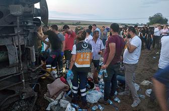 Tekirdağ'da tren kazası: 10 ölü, 73 yaralı!