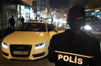 İstanbul'da asayiş uygulaması: 4 gözaltı
