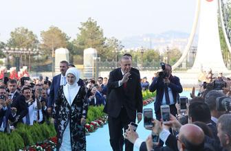 İlk Başkan Recep Tayyip Erdoğan Cumhurbaşkanlığı Külliyesi'de
