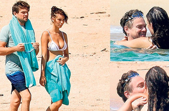 Leonardo DiCaprio genç sevgilisini öpmeye doyamadı