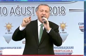 Cumhurbaşkanı Erdoğan'dan döviz yorumu: Dolar yolumuzu kesemez