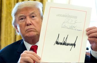 Bugün çok kritik Trump Türkiye tasarısını imzalayacak mı