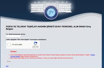 PTT sonuçları ne zaman açıklanacak GAZİSEM sonuç sorgulama