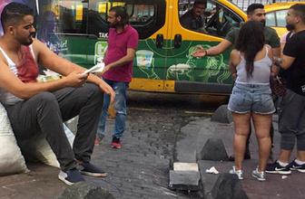 Beyoğlu'nda kadınlar arasında kavga çıktı: 2 yaralı