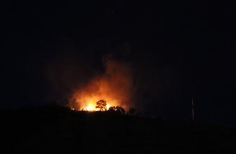 Askeri gazinodaki yangın korkuttu!