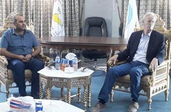 ABD heyetinden Kobani'deki hastaneye tıbbi malzeme yardımı
