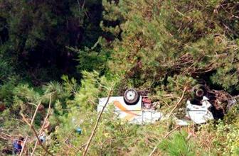 Bartın'da korkunç kaza: Ölü ve yaralılar var