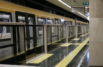 Üsküdar-Yamanevler Metrosu'nda seferlere devam