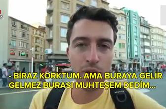 ABD'li genç turistten Trump hükümetine tokat gibi Türkiye cevabı