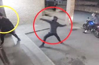 Hırsız cam yerine arkadaşının kafasını kırdı
