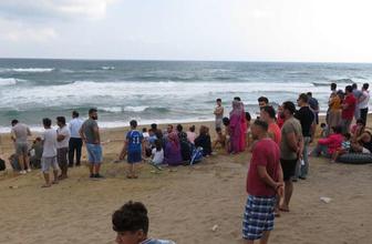 Şile'de anonslar yapılıyor denize girmek yasaklandı! Bir kişi kayıp