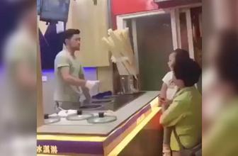 Kimse bunu beklemiyordu! Küçük kızdan dondurmacıya tokat gibi cevap