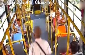 Yok artık! Yaşlı adam şoför kapıyı açmayınca otobüsten böyle indi
