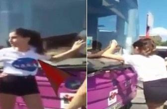 Şoförle yolcu birbirine girdi! 'Vahşi misin sen?'