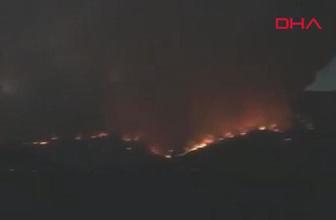 Kastamonu'da korkutan orman yangını
