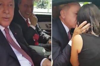 Çocuklar 'Recep Dede' diye bağırdı, Erdoğan konvoyu durdurdu!