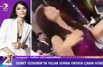 Demet Özdemir'in olay görüntüleri! Yıllar önce bu klipte oynamış