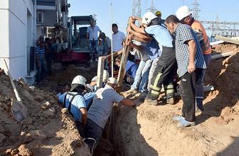 Doğalgaz hattı kazısında toprak kayması: 2 işçi ağır yaralı!