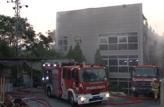 İstanbul'da fabrikada yangın! 6 ilçe müdahale etti
