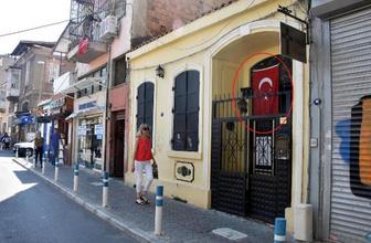 Brunson'ın eşi oraya gitti Türk Bayrağı'na dikkat