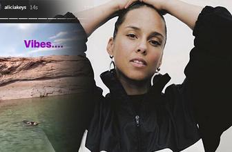 Halkalı Şeker şarkısıyla yüzen Alicia Keys kimdir video olay oldu