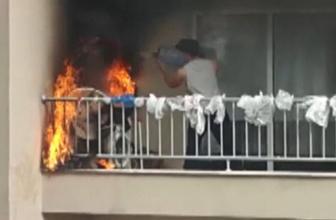 Bursa'da sigara izmariti yangına sebep oldu